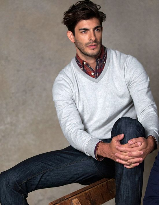Men's Classic Fall Look, Men's Fall Winter Fashion.