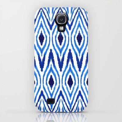 Ikat Blue iPhone & iPod Case & S4 + free shipping worldwide