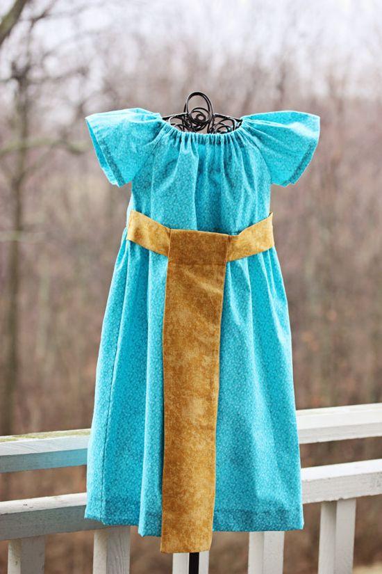 Merida peasant dress