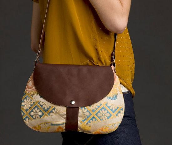 leather and obi purse