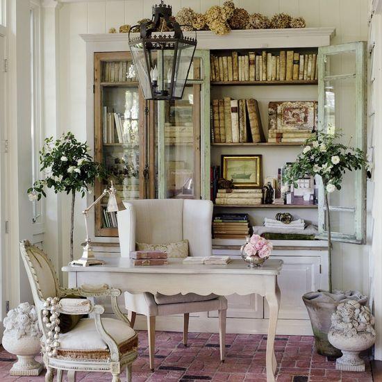 Brooke Giannetti's home office