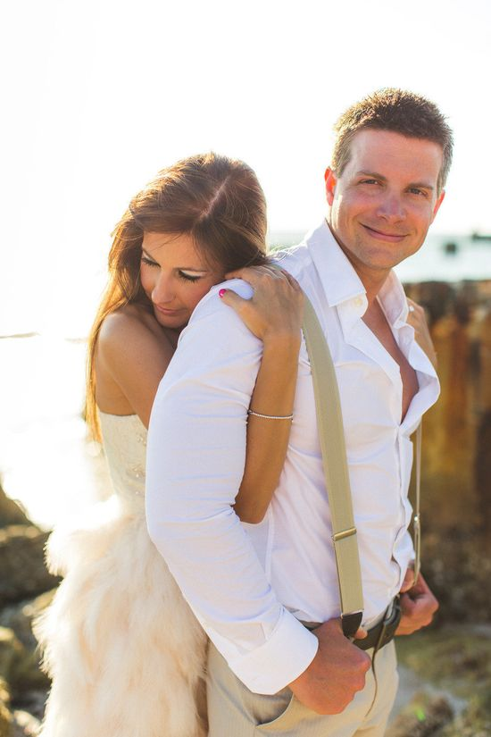 Siesta Key Engagement Shoot from Concept Photography  Read more - www.stylemepretty...