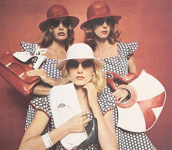 Accessorising… the 1970s way!