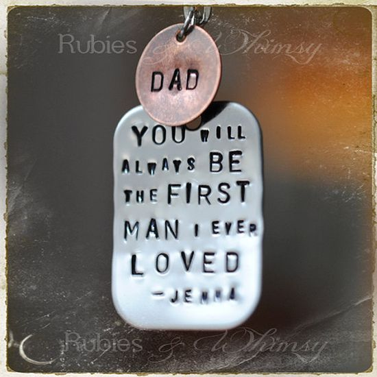 First man I Ever Loved Personalized Gift For by rubiesandwhimsy, $26.00