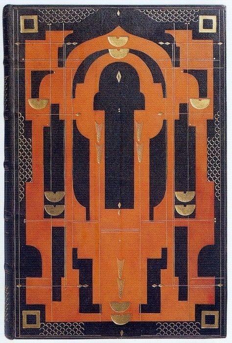 Sybil Pye, Apocrypha, 1924--art deco book cover. by LeenaDea