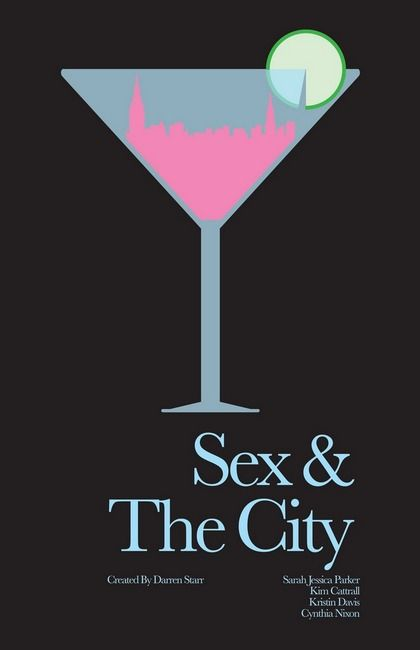 Sex And The City - Minimalist Poster