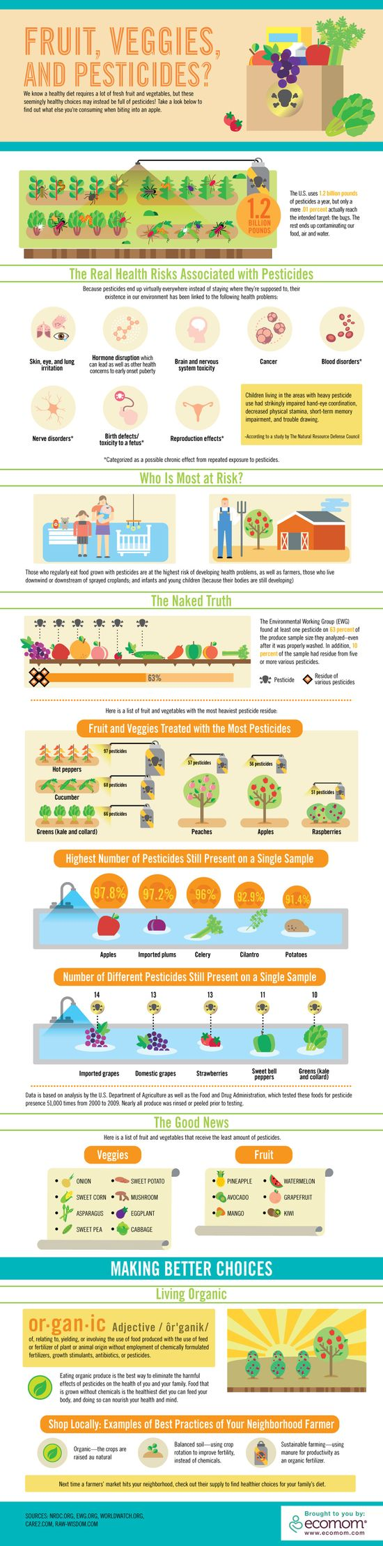 Infographic - Organic Foods