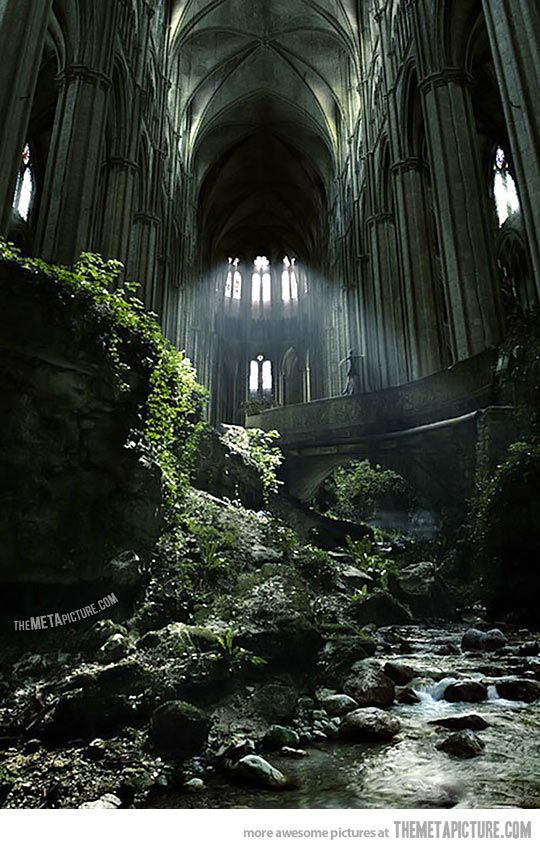 Abandoned Church of St Etienne