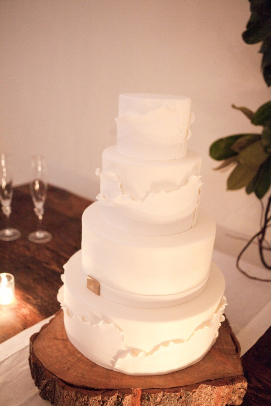 modern and structured cake by www.confectionson...  Photography by laurenkinsey.com
