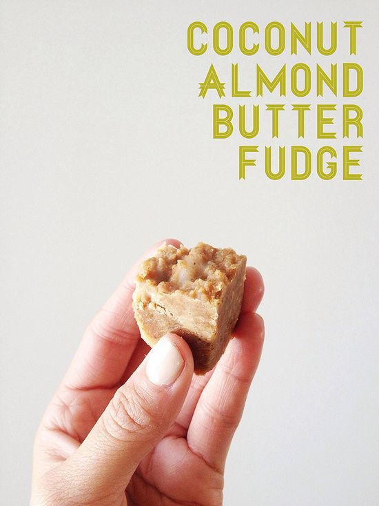 Successfully made!!!!! Actually made this.  Simple and delicious! Healthy Dessert: Coconut Almond Butter Banana Fudge