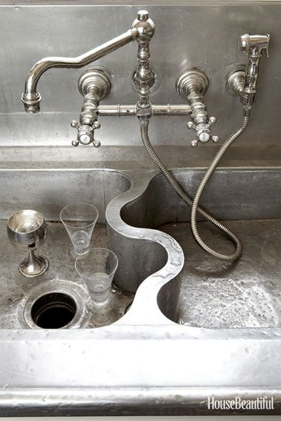 Outrageously beautiful sink  German Silver Sink Co