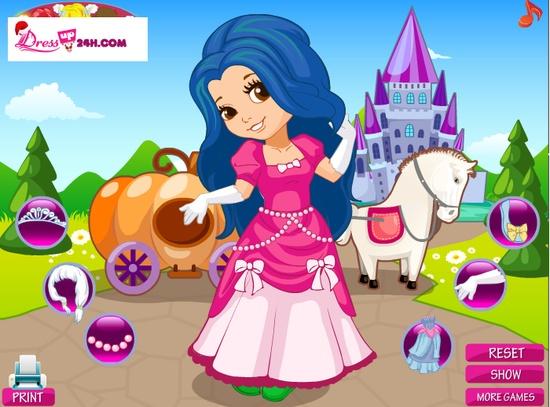 Little Girl Dress Up Games