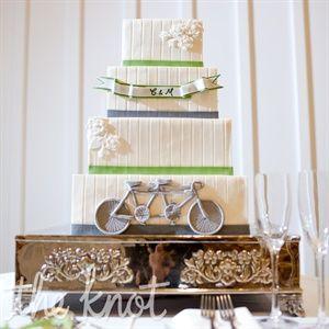 Bicycle Wedding Cake