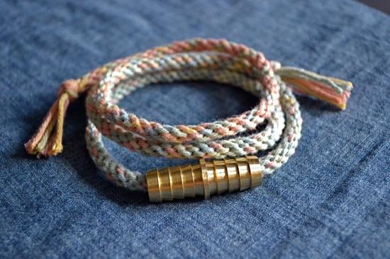 Corda Necklace by @Jennifer Zinn