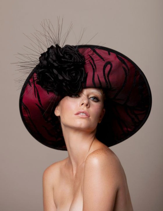 #Couture Derby hat