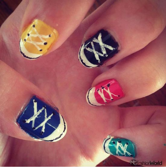 2013 Trendy and Creative Nail Designs