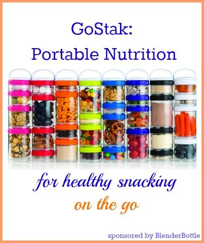 GoStak: portable snacking for healthy eating on the go: #FitFluential finds
