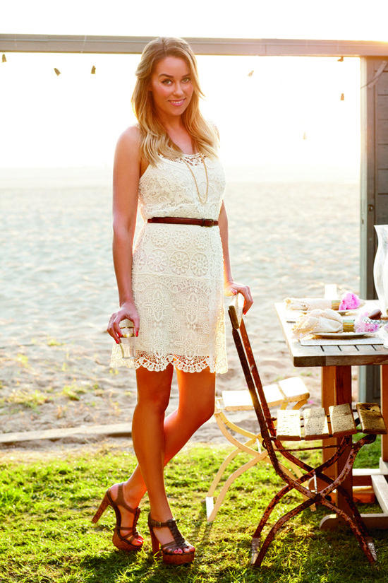 lc #laurenconrad: vintage-inspired crochet dress
