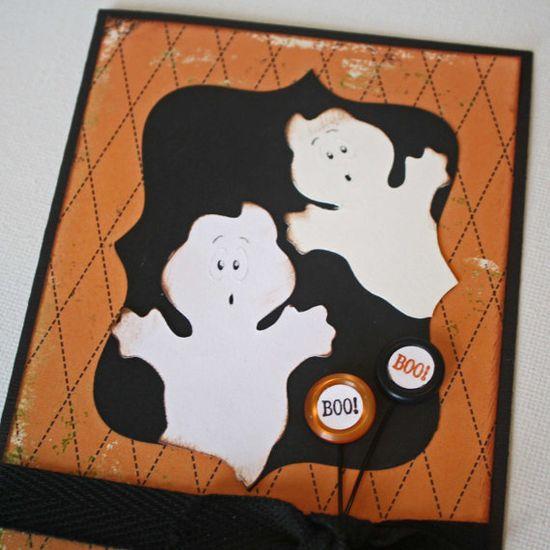 handmade halloween cards - Google Search