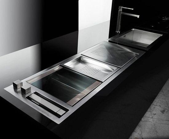 Modern kitchen design by Marcello Cutino