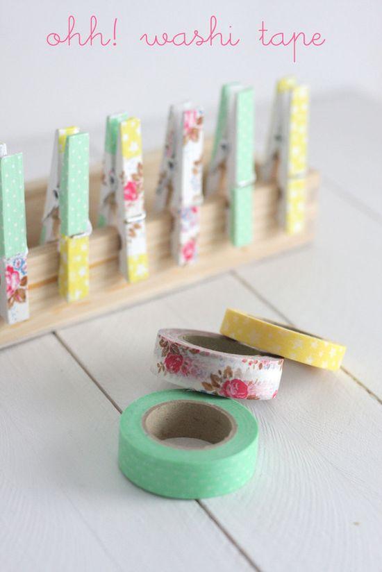 more washi tape! :) by hornoyadorno.com