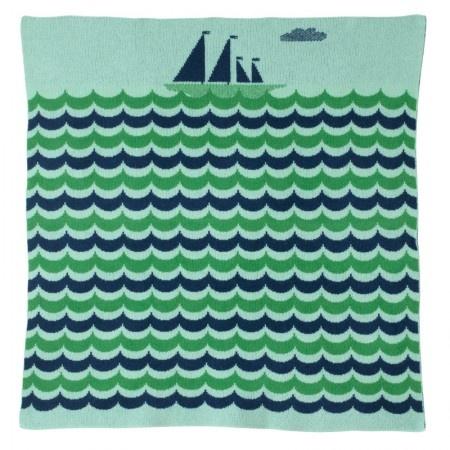 boat baby blanket