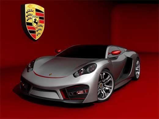 Concept 5 Porsche - Front View