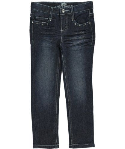 "33% Off was $18.00, now is $11.99! Almost Famous ""Katie"" Skinny Jeans (Sizes 2T - 4T)"