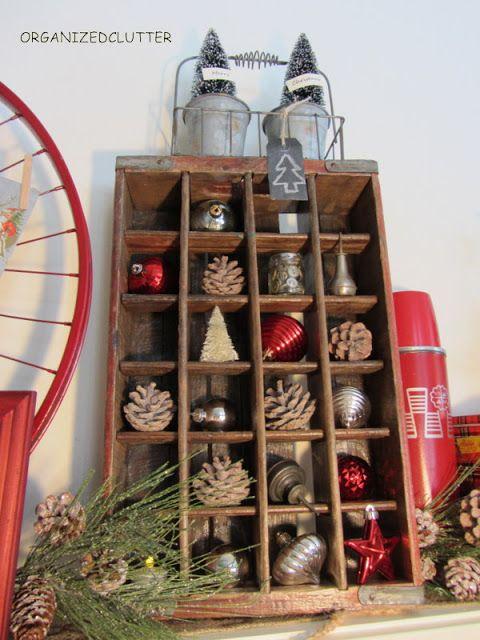 Organized Clutter: Christmas Mantel 2012 organizedclutterq...