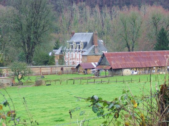French Country ~ Farm Scene