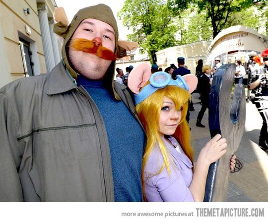 Awesome cosplay from Russia…