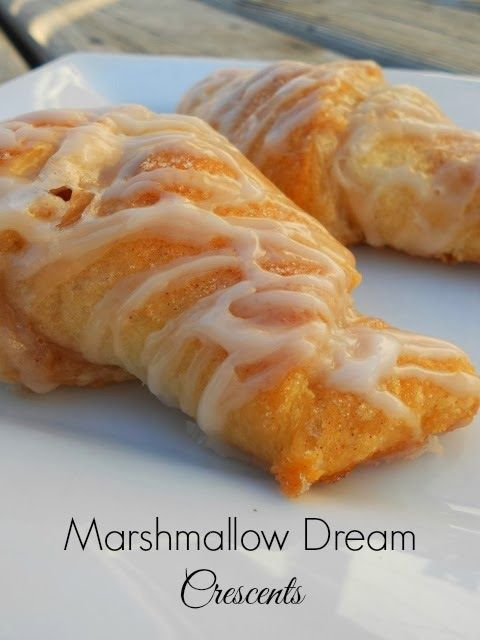 Ally's Sweet and Savory Eats: Marshmallow Dream Crescents