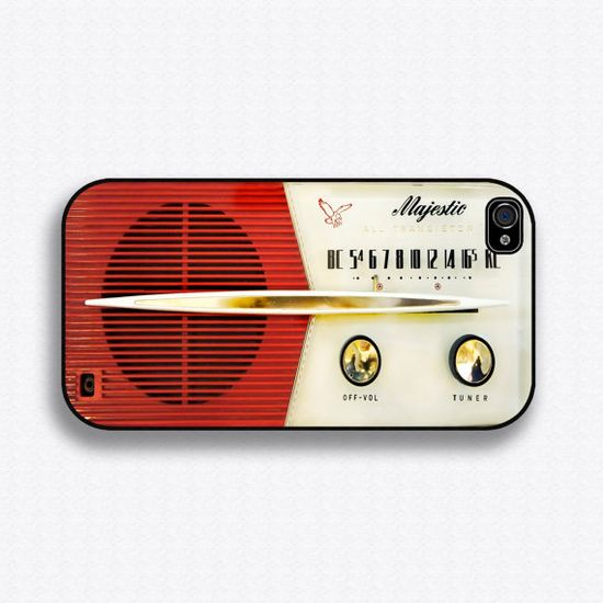 Vintage Majestic Radio iPhone Case