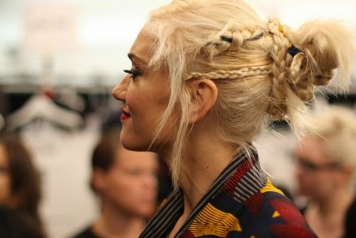 Braid up your bun, Gwen is always full of hairspiration