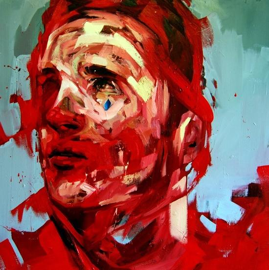 "Saatchi Online Artist: Andrew Salgado; Oil, 2011, Painting ""The Fool """