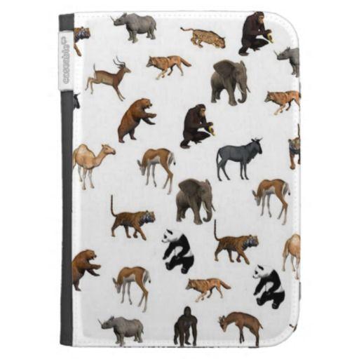 Wild Animals Kindle Case