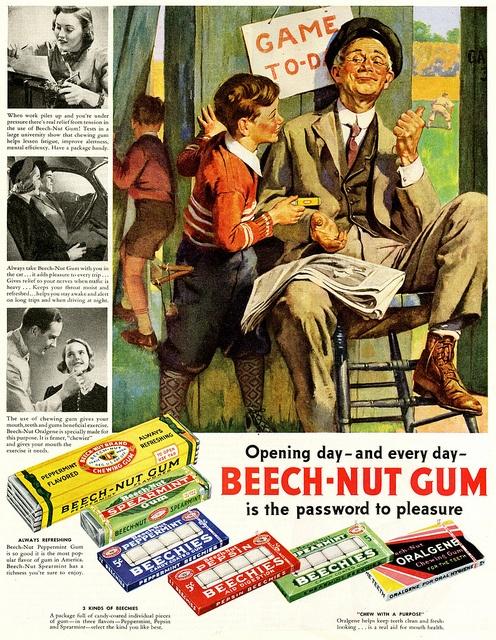Beech-Nut Gum