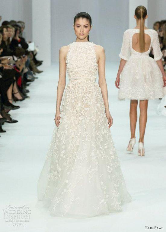 elie saab wedding dress 2012 collection