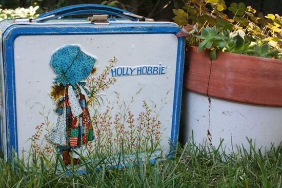 Holly Hobbie - OK So I still have this same exact lunch box in my garage! LOL! A muppets one too!!!