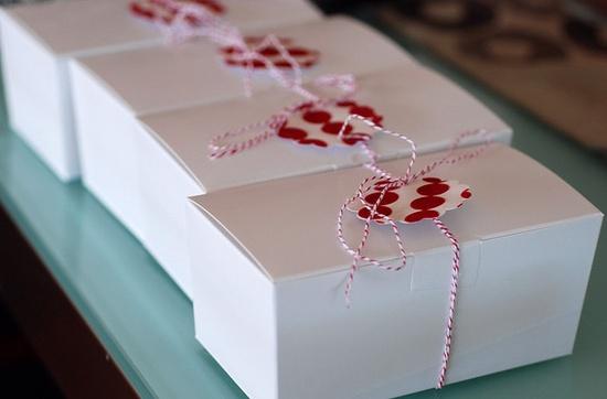 Polka Dot Gift Wrap for Christmas Gifts