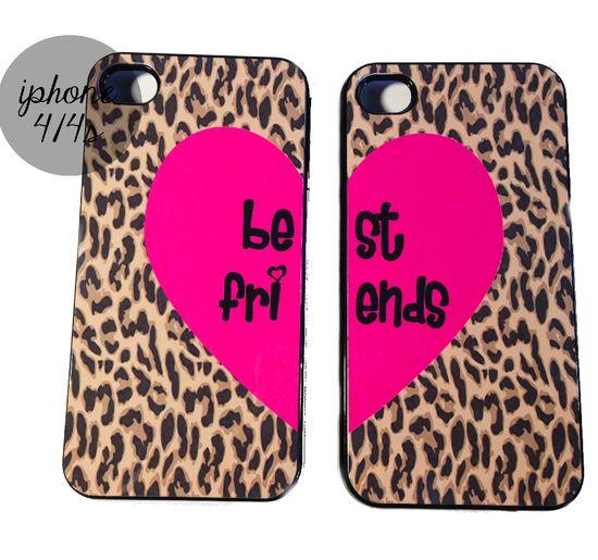 Leopard Best Friends Iphone Cases