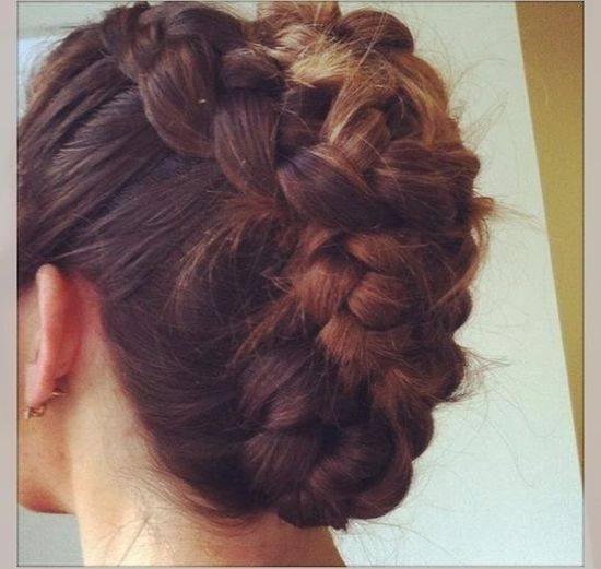inside out braided twist