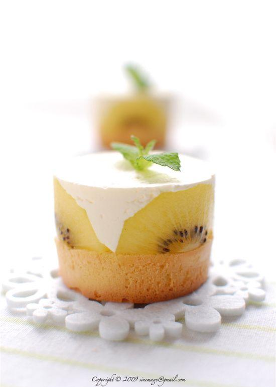 Kiwi gold cakes