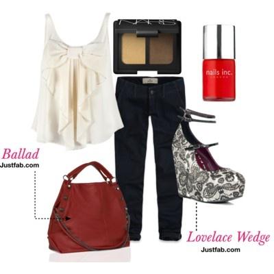 Lovelace Wedge Iron Fist # handbag