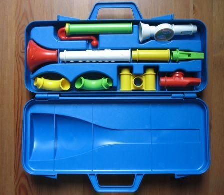 Fisher Price toy music set from the 80's....this started my days of band!!  LOL  And I think I still have it in storage!!