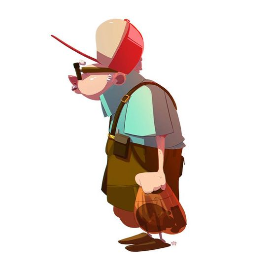 Character design - Old Man