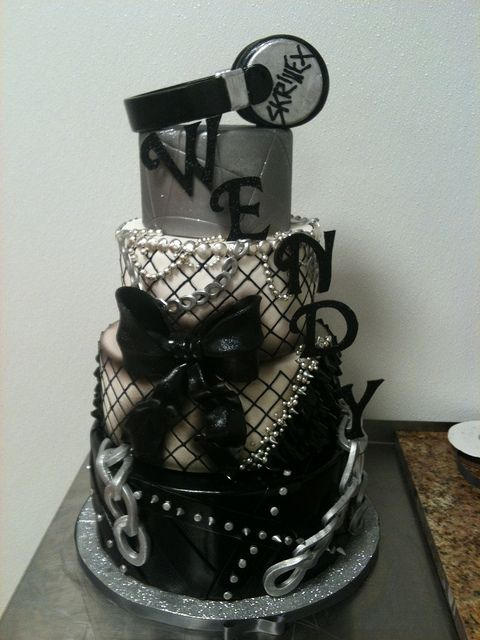 Custom Birthday Cake by Gimme Some Sugar (vegas!), via Flickr