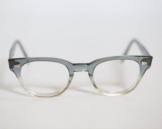 Grey Fade 1950s/60s Hornrim Eyeglass Sunglass Frames Pathway USA v#vintage #eyewear #nattygal #womenseyewear