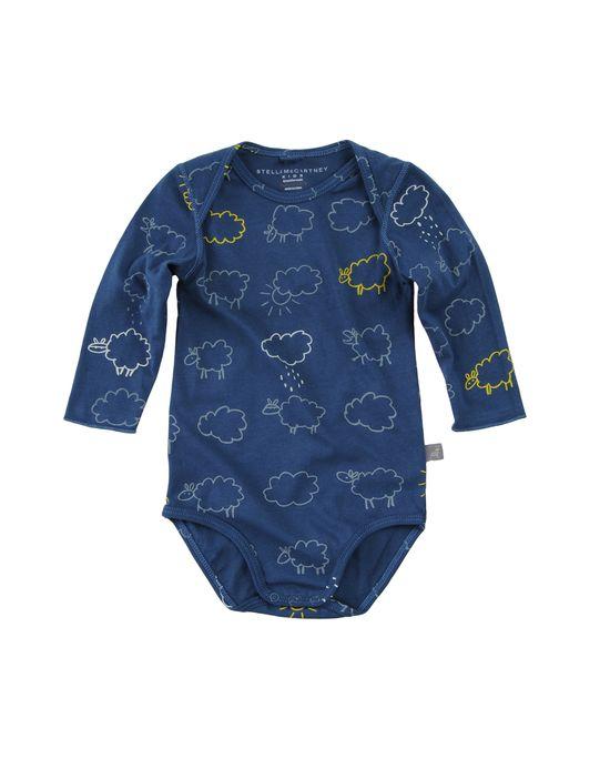 STELLA McCARTNEY KIDS Baby Boy Cloud Print Organic Cotton Bodysuit