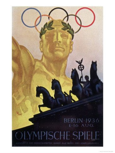 Vintage Olympic Poster